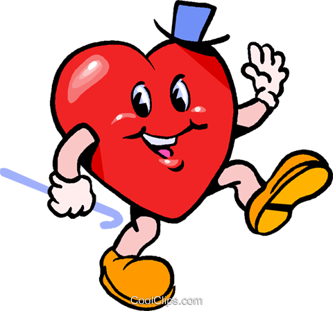 Valentines day heart Royalty Free Vector Clip Art illustration vc027383