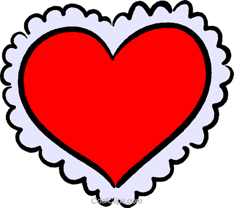valentines day card Royalty Free Vector Clip Art illustration vc027395