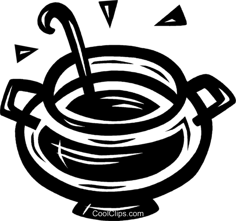 soup Royalty Free Vector Clip Art illustration vc027647