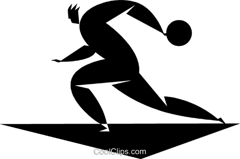 bowler Royalty Free Vector Clip Art illustration vc027772