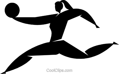gymnast Royalty Free Vector Clip Art illustration vc027858