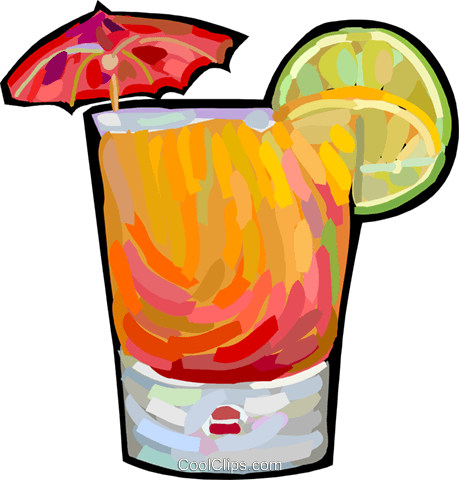 alcoholic beverage Royalty Free Vector Clip Art illustration vc027883
