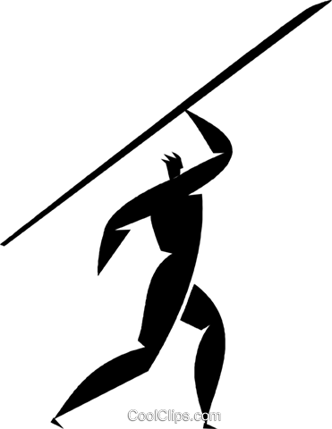 javelin Royalty Free Vector Clip Art illustration vc027899