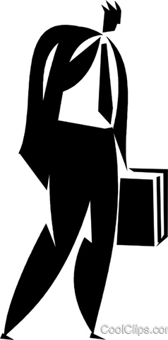 businessman Royalty Free Vector Clip Art illustration vc027932