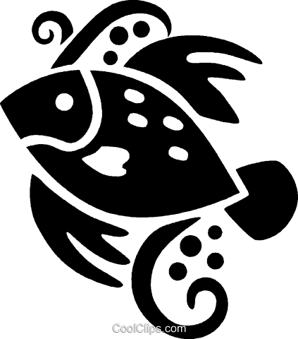 fish Royalty Free Vector Clip Art illustration vc027984