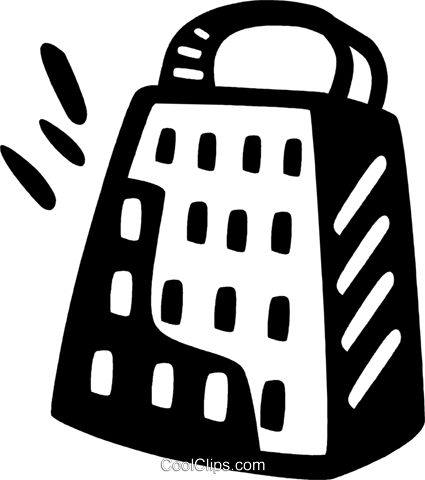 cheese grater Royalty Free Vector Clip Art illustration vc028010