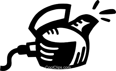 kettle Royalty Free Vector Clip Art illustration vc028020