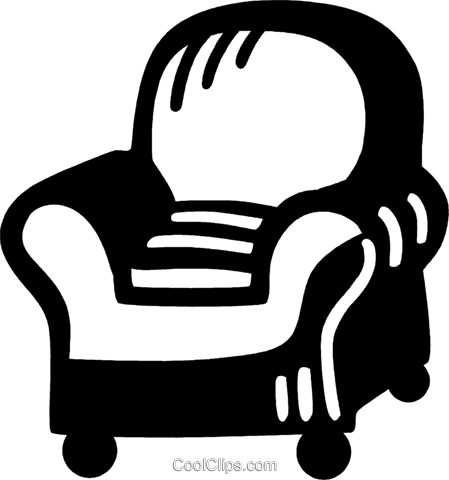 chair Royalty Free Vector Clip Art illustration vc028022
