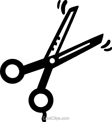 Scissors Royalty Free Vector Clip Art illustration vc028050