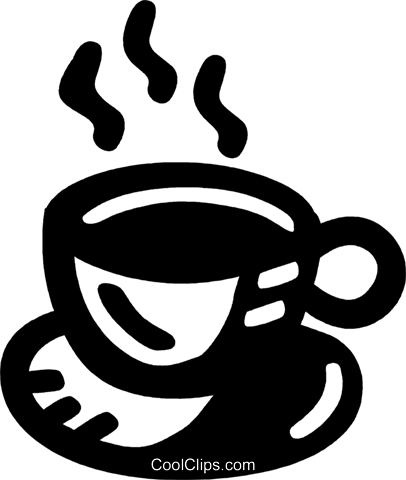 cup of coffee Royalty Free Vector Clip Art illustration vc028055