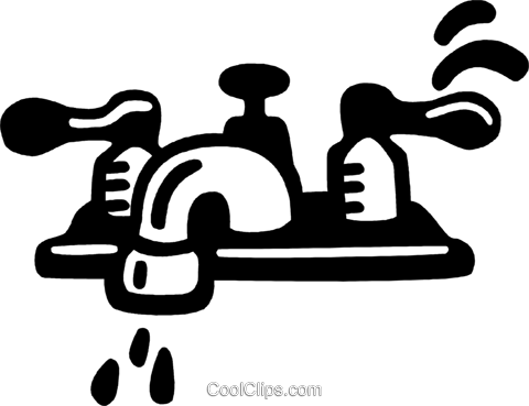 faucets Royalty Free Vector Clip Art illustration vc028094