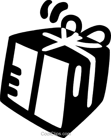 gift Royalty Free Vector Clip Art illustration vc028147