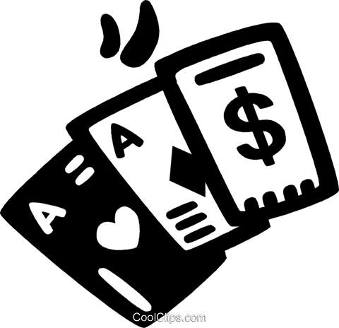playing cards Royalty Free Vector Clip Art illustration vc028182