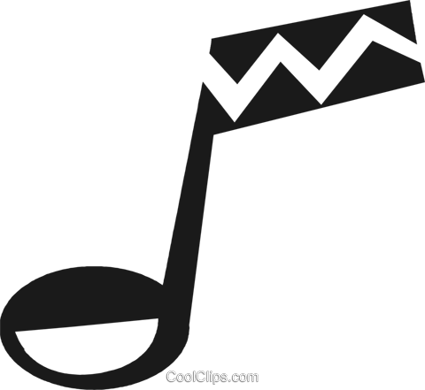 music note Royalty Free Vector Clip Art illustration vc028204