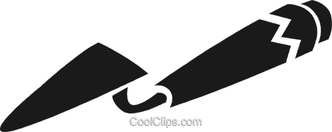 trowel Royalty Free Vector Clip Art illustration vc028270