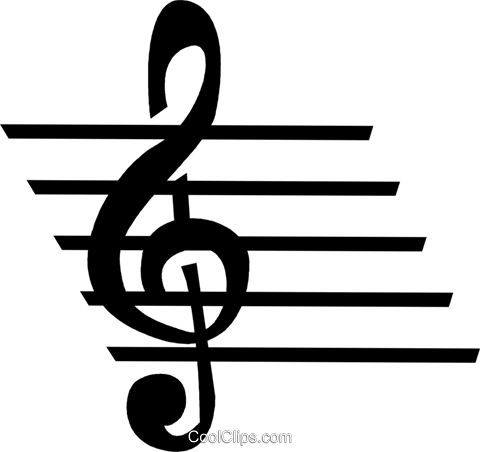 musical note Royalty Free Vector Clip Art illustration vc028299