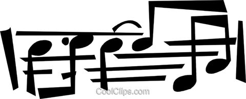 musical note Royalty Free Vector Clip Art illustration vc028350