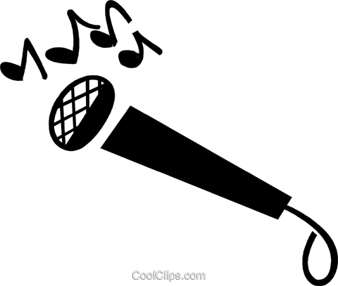microphone Royalty Free Vector Clip Art illustration vc028402
