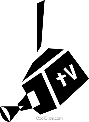 television cameras Royalty Free Vector Clip Art illustration vc028406