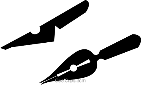 trowel Royalty Free Vector Clip Art illustration vc028417
