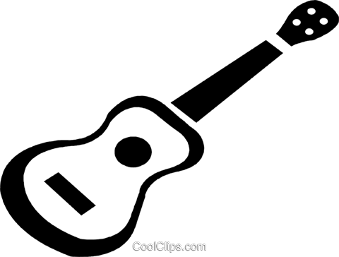 guitar Royalty Free Vector Clip Art illustration vc028423