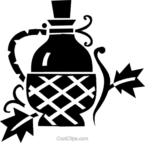 wine Royalty Free Vector Clip Art illustration vc028450