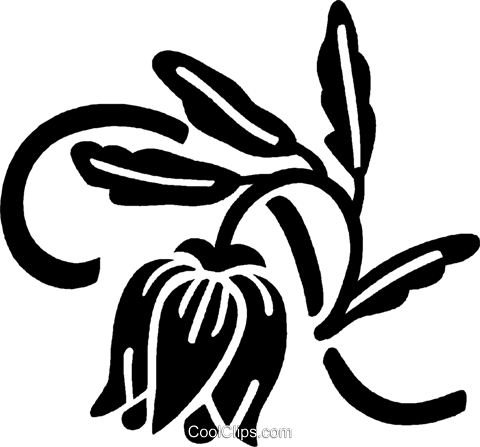 decorative floral elements Royalty Free Vector Clip Art illustration vc028479