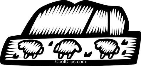 Sheep Royalty Free Vector Clip Art illustration vc028745