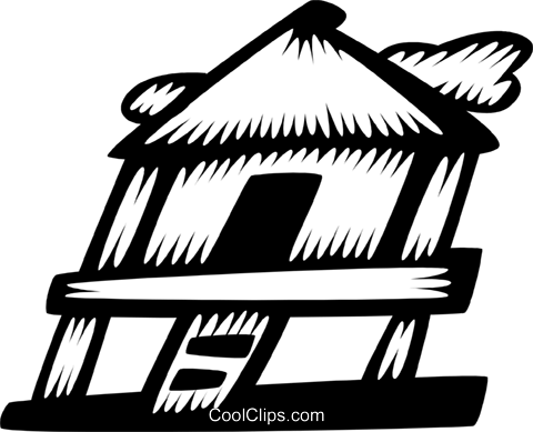Urban Housing Royalty Free Vector Clip Art illustration vc028758