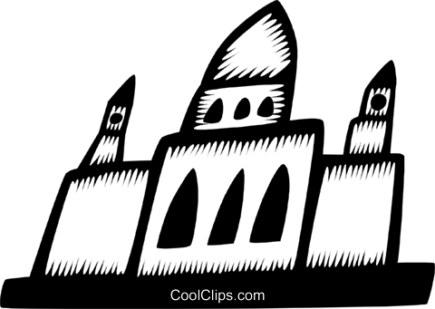 building Royalty Free Vector Clip Art illustration vc028767