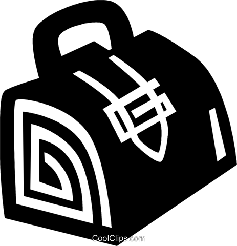 doctor's bag Royalty Free Vector Clip Art illustration vc028914