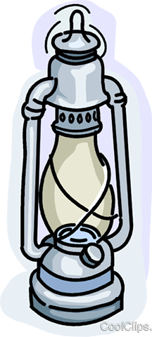 oil lantern Royalty Free Vector Clip Art illustration vc028950