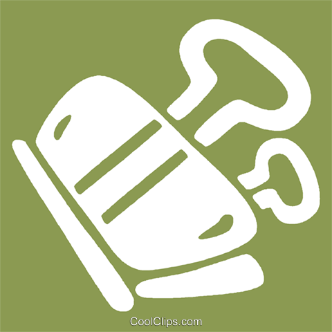 bulldog clips Royalty Free Vector Clip Art illustration vc028990