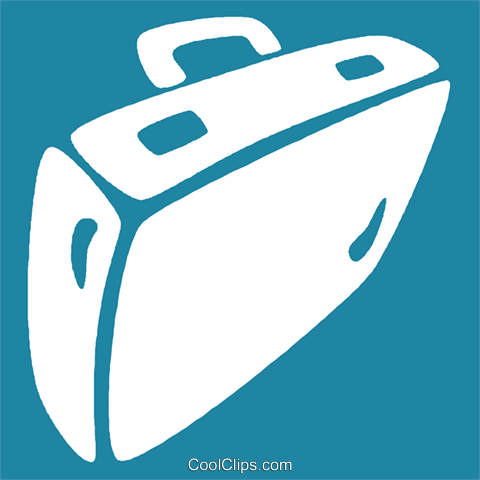 briefcases Royalty Free Vector Clip Art illustration vc029004