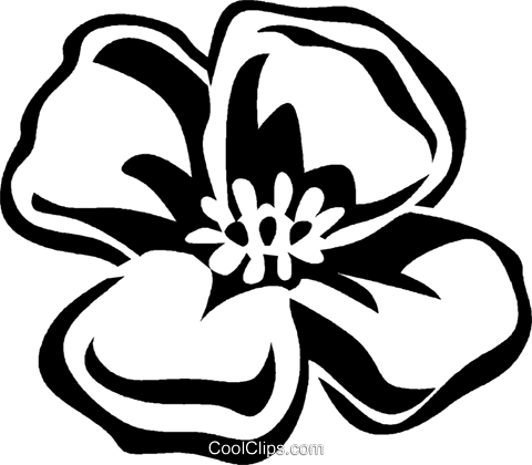 Poppy Royalty Free Vector Clip Art illustration vc029304