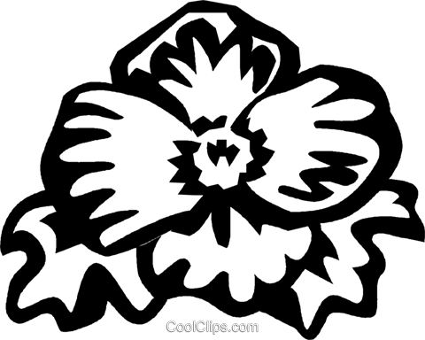 begonia Royalty Free Vector Clip Art illustration vc029344