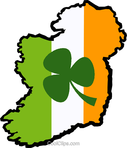 Ireland Royalty Free Vector Clip Art illustration vc029550