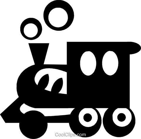 train Royalty Free Vector Clip Art illustration vc029607
