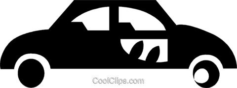family car Royalty Free Vector Clip Art illustration vc029608