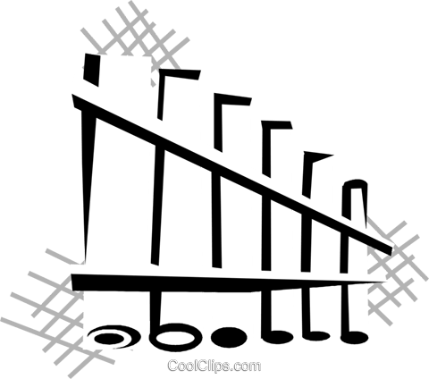 Panpipes Royalty Free Vector Clip Art illustration vc029798
