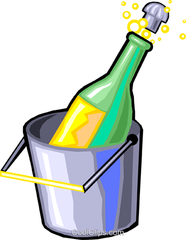 champagne Royalty Free Vector Clip Art illustration vc029914