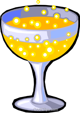 champagne Royalty Free Vector Clip Art illustration vc029915