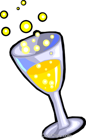 champagne Royalty Free Vector Clip Art illustration vc029916