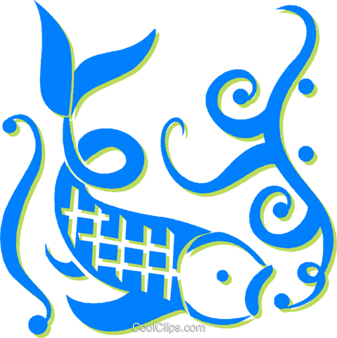 fish Royalty Free Vector Clip Art illustration vc030520