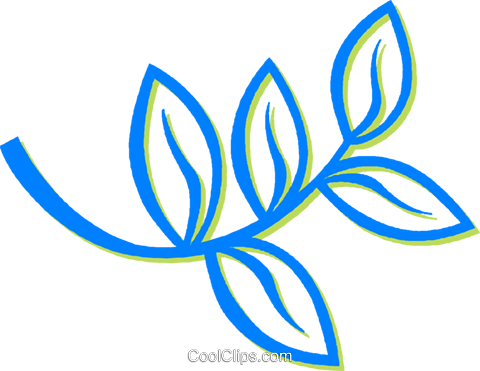 leaves Royalty Free Vector Clip Art illustration vc030603
