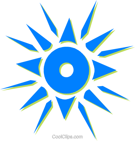 sun Royalty Free Vector Clip Art illustration vc030626