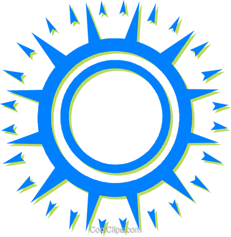 sun Royalty Free Vector Clip Art illustration vc030629