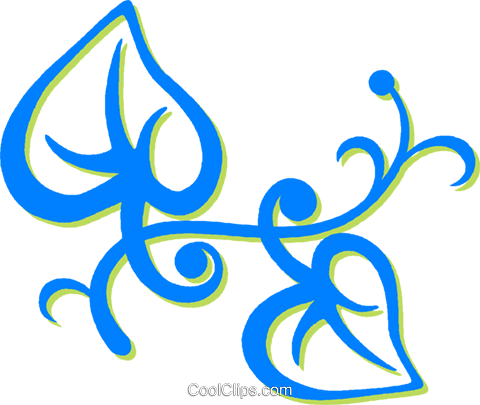 leaves Royalty Free Vector Clip Art illustration vc030699