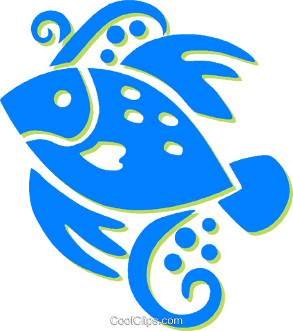fish Royalty Free Vector Clip Art illustration vc030813