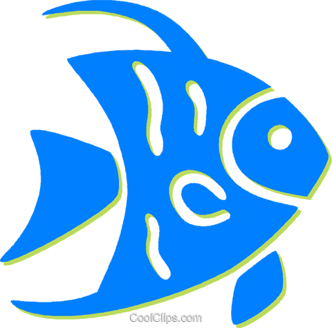 fish Royalty Free Vector Clip Art illustration vc030817